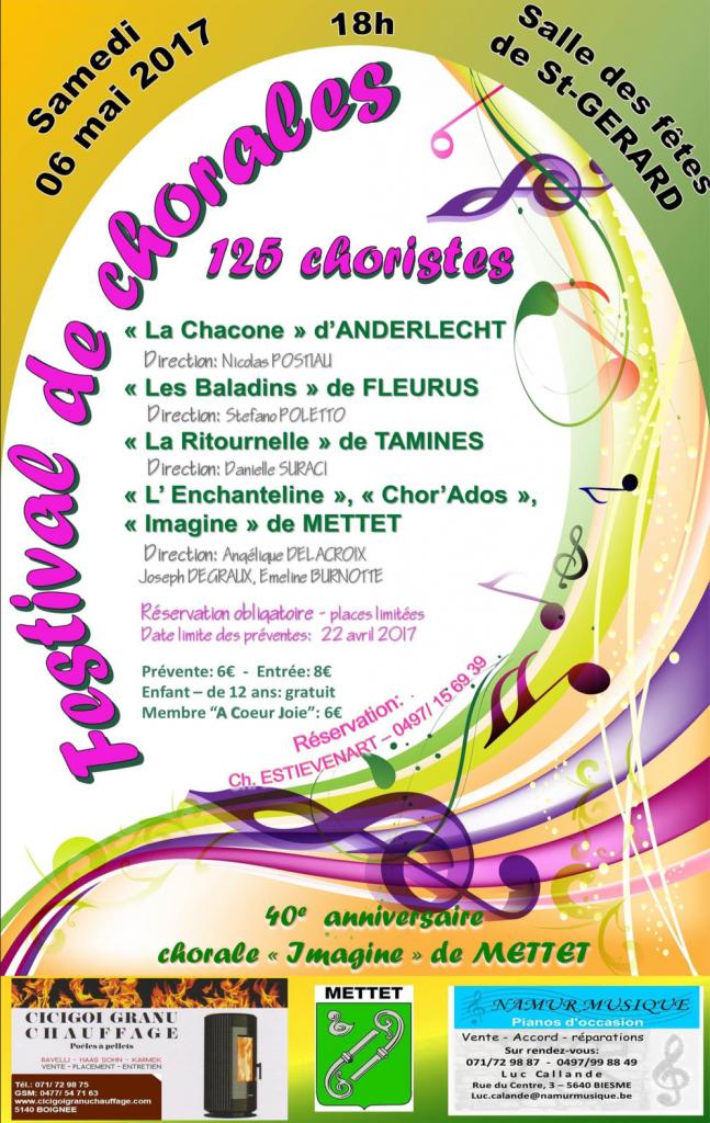 Festival de chorales 2017